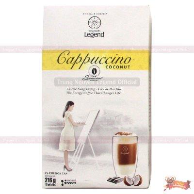 Cà phê Cappuccino Hương Dừa Coconut Trung Nguyên - MSN181361