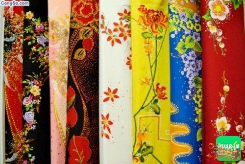 Vải may áo dài - món quà ý nghĩa dành tặng cô giáo nhân ngày 20/11