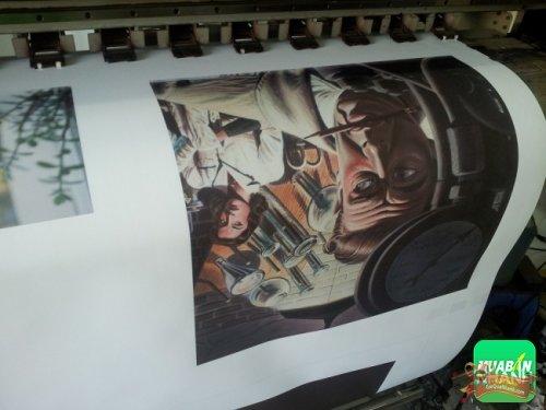 In tranh canvas phong cách tranh sơn dầu, tranh hội họa thực hiện in ấn bởi Công ty TNHH In Kỹ Thuật Số - Digital Printing Ltd 1