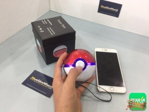 Quà tặng Giáng Sinh dành cho bạn trai - Pin sạc dự phòng hình bóng Pokemon