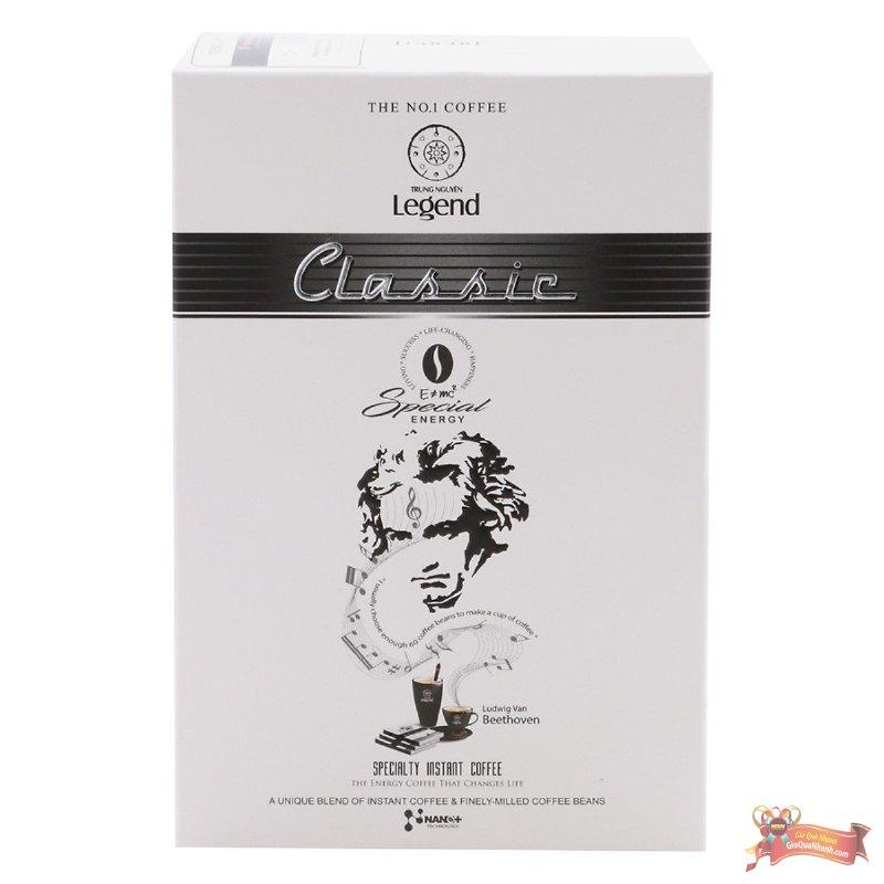 Cà Phê Legend Classic Trung Nguyên (12 Gói x 17g) - MSN181363