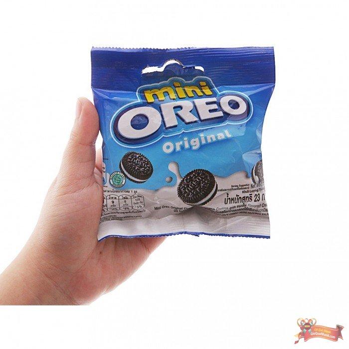 Bánh Quy Mini Oreo Nhân Kem Vani 204g - MSN181515