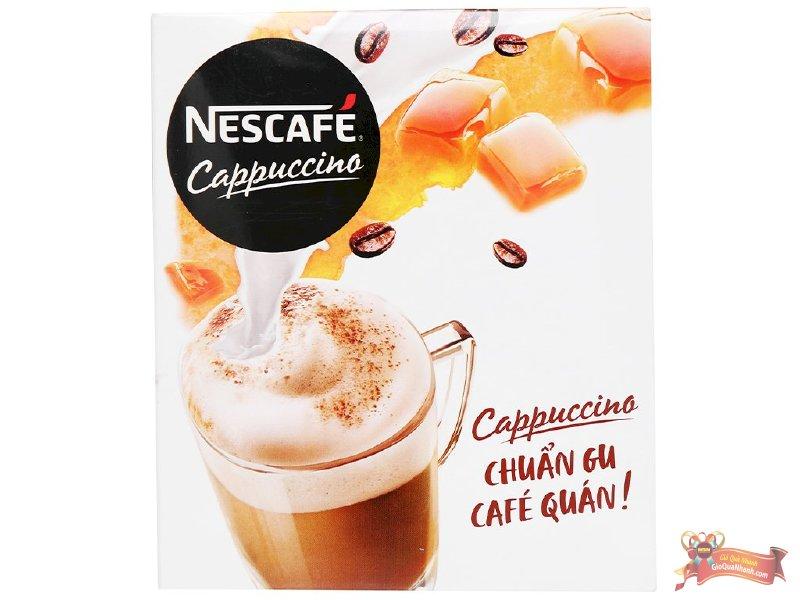Cà Phê Cappuccino Nescafe Vị Caramel 200g - MSN181512