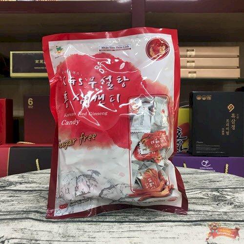 Kẹo Hồng Sâm KGS Sugar Free Không Đường Bịch 300gr - MSN181391